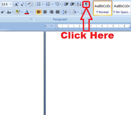 ms word remove blank page