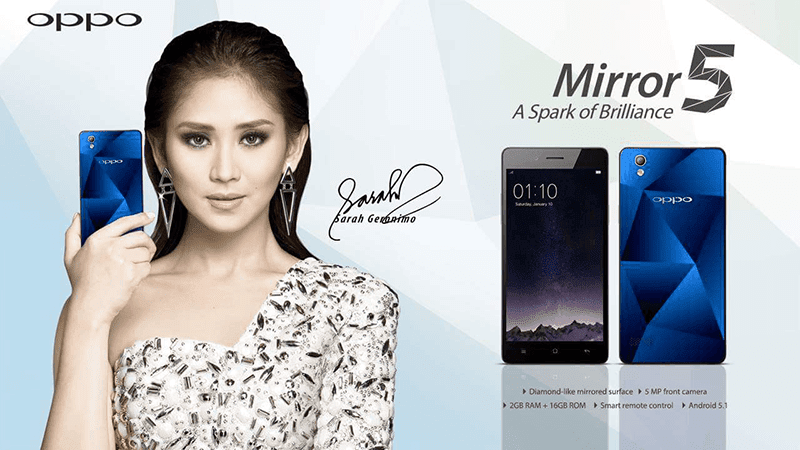 OPPO MIRROR 5 FINALLY LAUNCHED IN PH! PRICED AT 9,990 PESOS!