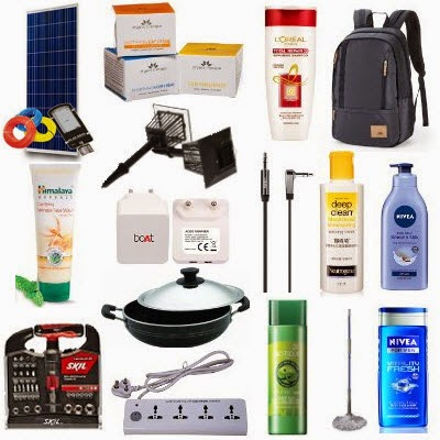 Pigeon Non-Stick Kadai 20cm Rs.539, 6Watt LED Solar Street Light Rs.4320, Nivea for Men Vitality Fresh Shower Gel 250ml Rs.140 & more