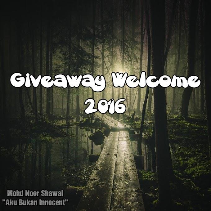 Senarai Hadiah Giveaway Welcome 2016 by Aku Bukan Innocent