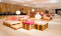 muebles con palets de madera