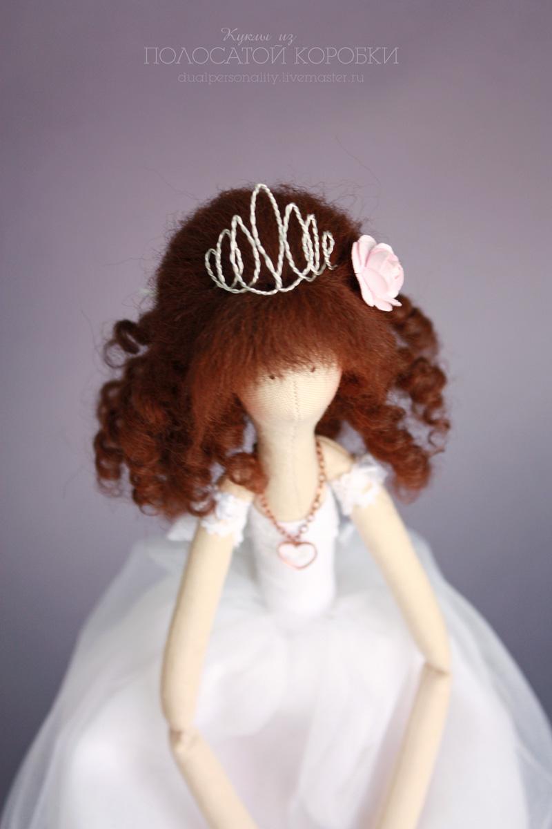 Кукла Принцесса, текстильная кукла тильда