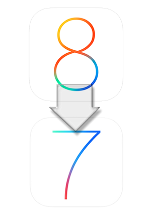 5 Steps to downgrade iOS 8 to iOS 7.1.2
