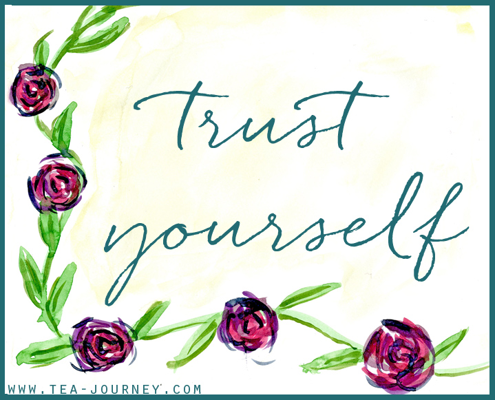 Trust yourself the power of self-belief finding the strength within to do everything you want to.