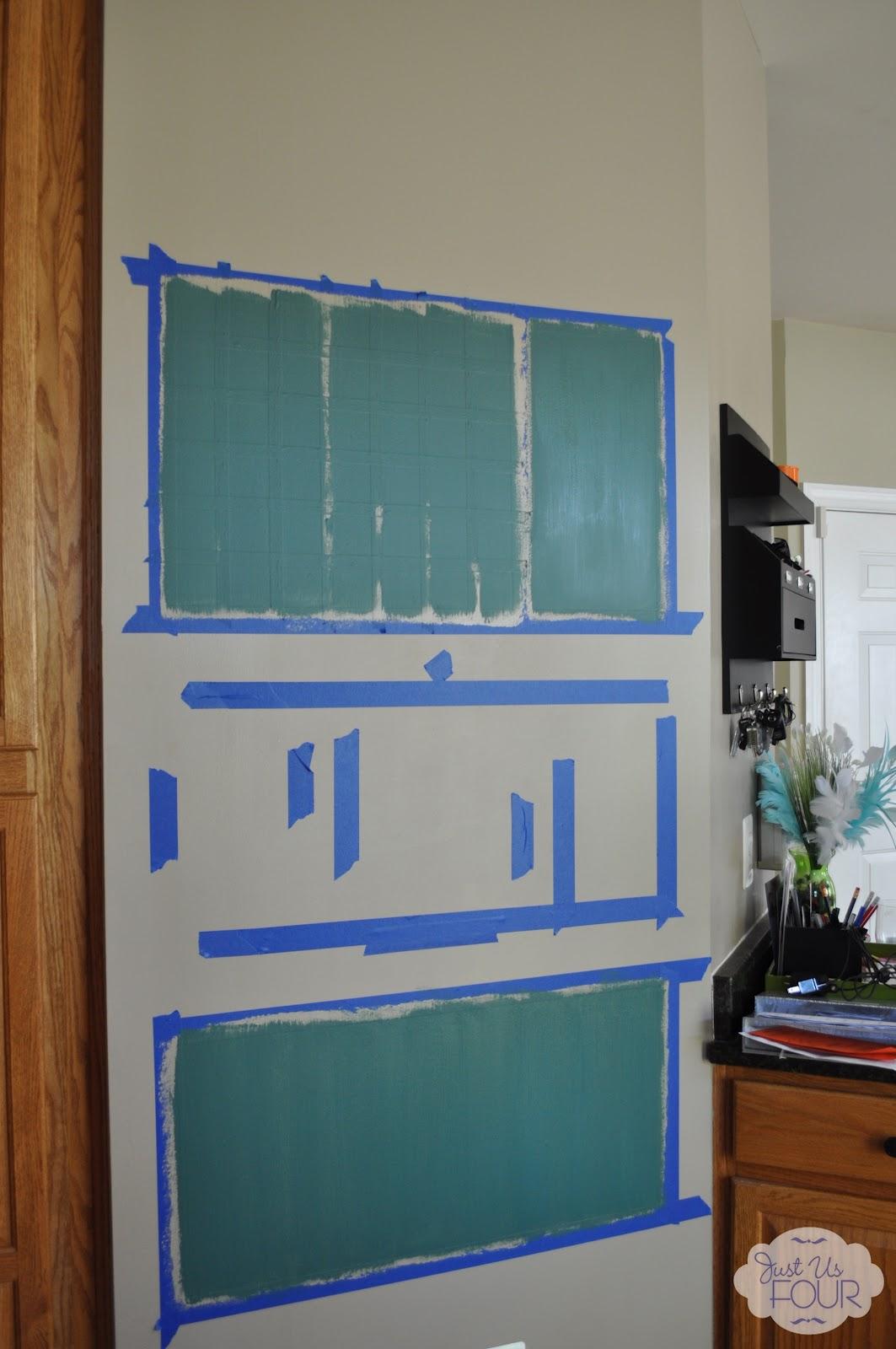 Chalkboard Command Center - My Suburban Kitchen