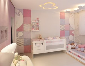 Quarto decorado