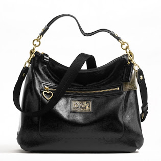 Ready Stock Coach Daisy Liquid Gloss Hobo #F20108