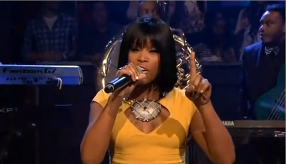 Eve canta no programa do Jimmy Fallon 2013