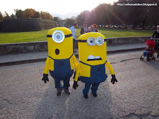 Minion Cosplay Lucca Comics & Games 2013