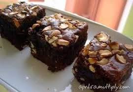 Resep Brownies Panggang Coklat Kacang Mete Gurih