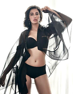 nargis fakhri in black dress