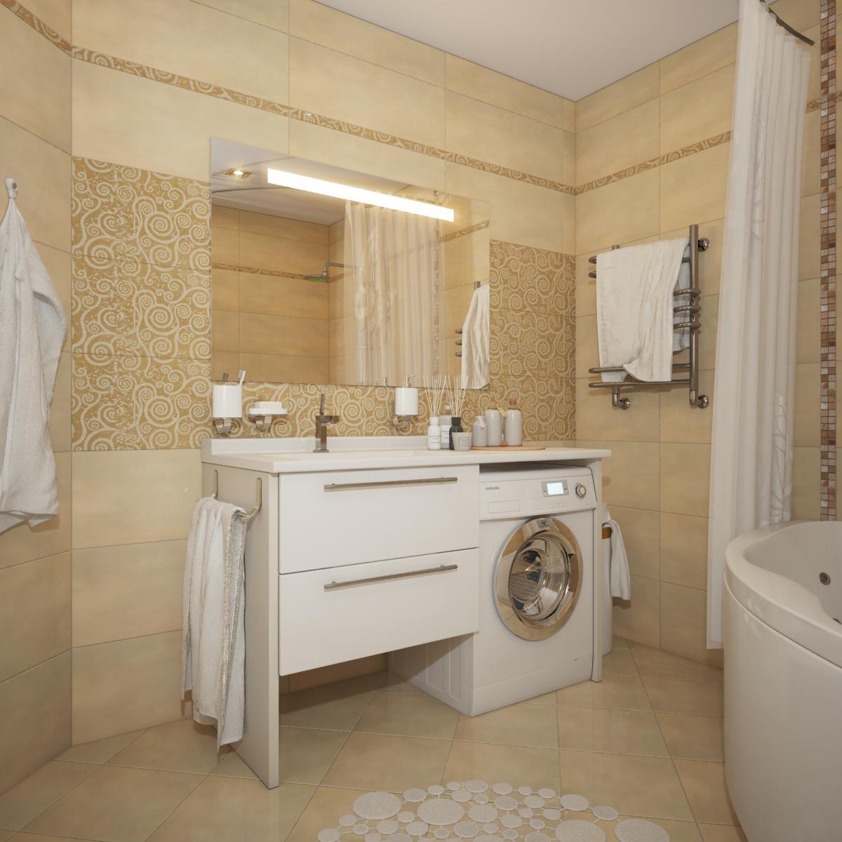 ванная 5 кв м фото | Photo-Find.ru