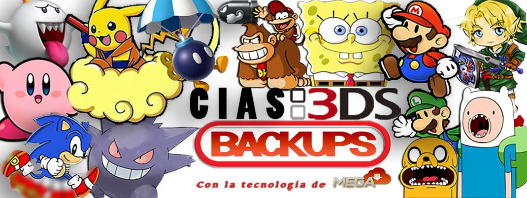 CIAS3DSBACKUPS