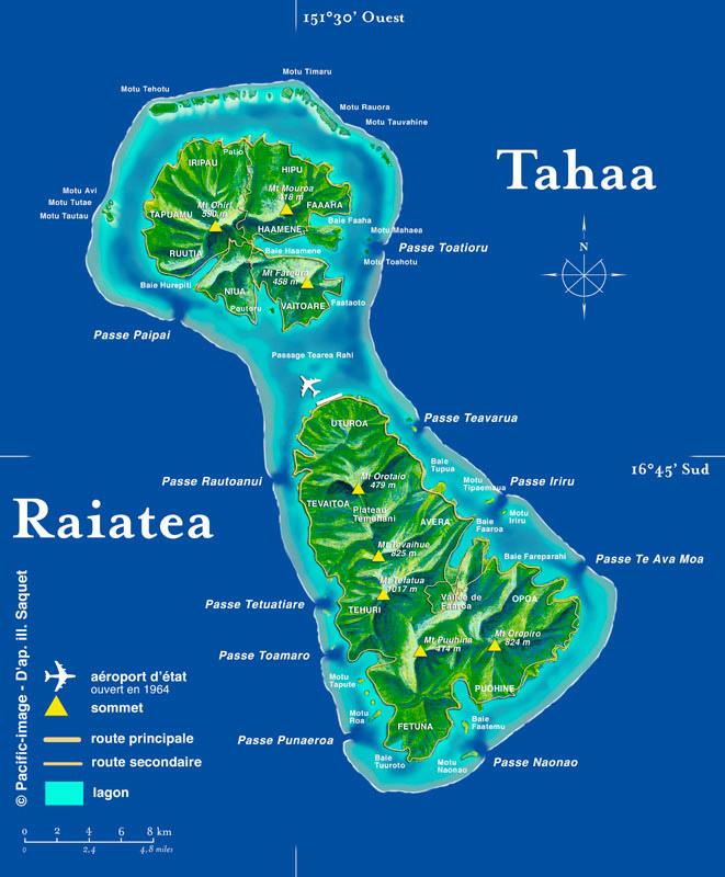 tahiti ses les et autres bouts du monde raiatea the sacred island. Black Bedroom Furniture Sets. Home Design Ideas