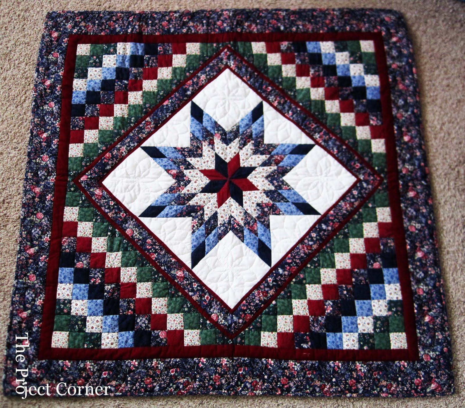 The Project Corner: Amish Quilt