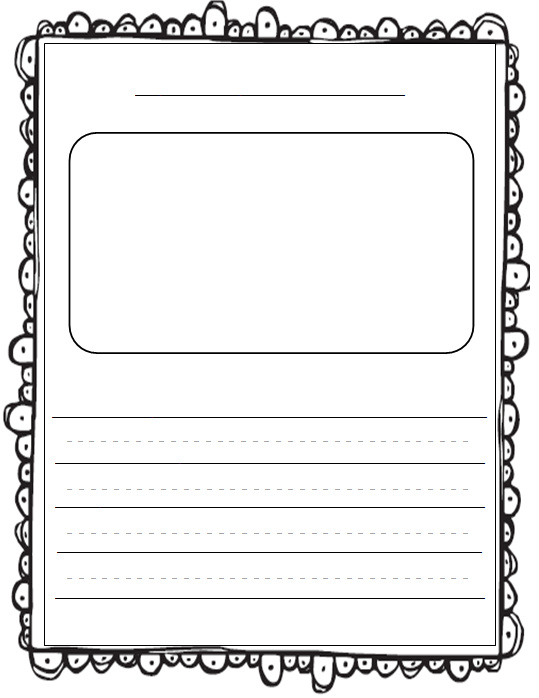 story writing paper template Story paper use these printables as story paper choose the printable based on either wide rule lines or narrow and either ruled lines halfway up the.