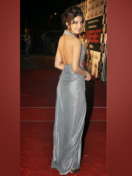 Priyanka Chopra Backless hot pics