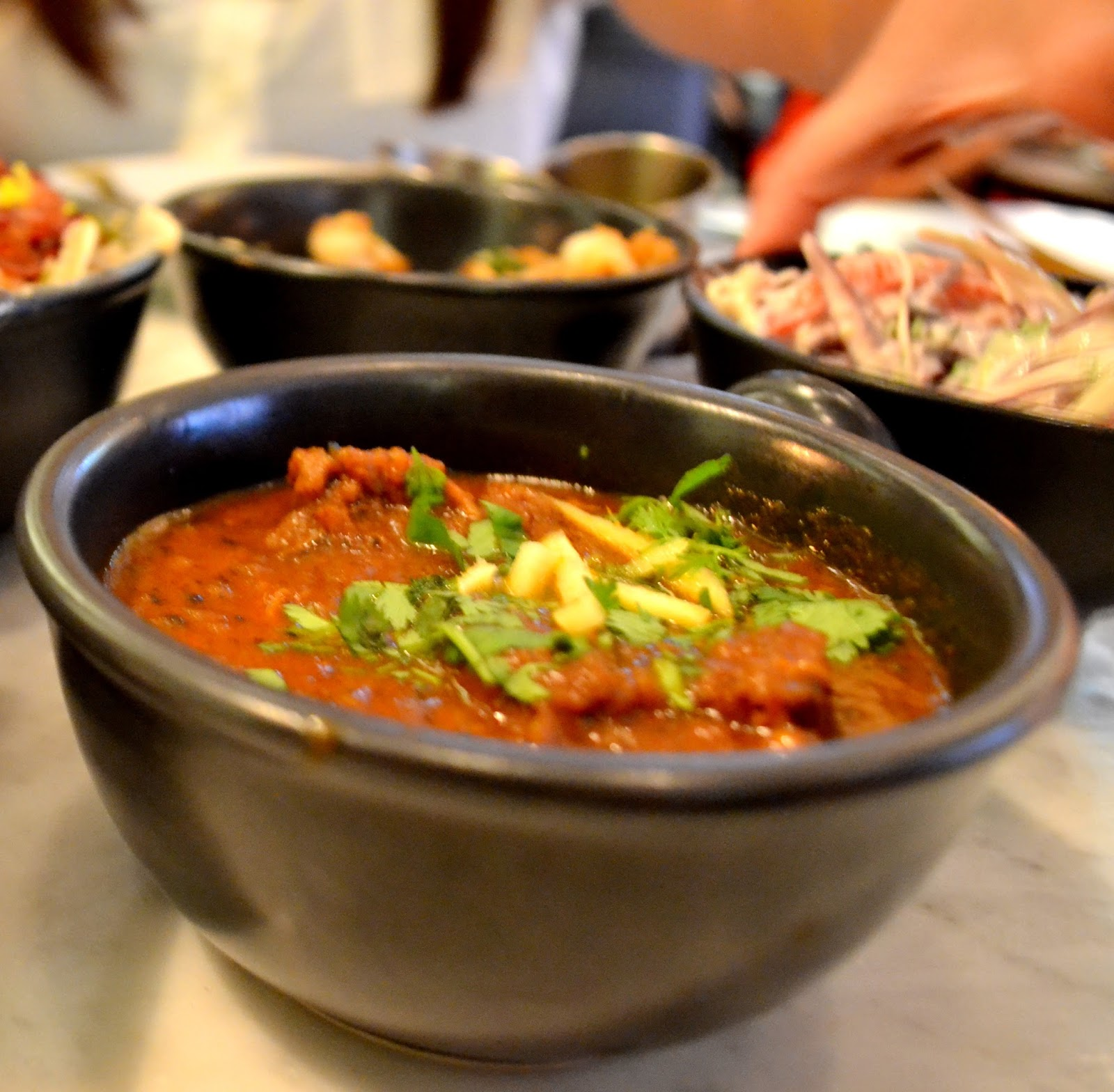From The Corners Of The Curve.: Dishoom Bombay Cafe