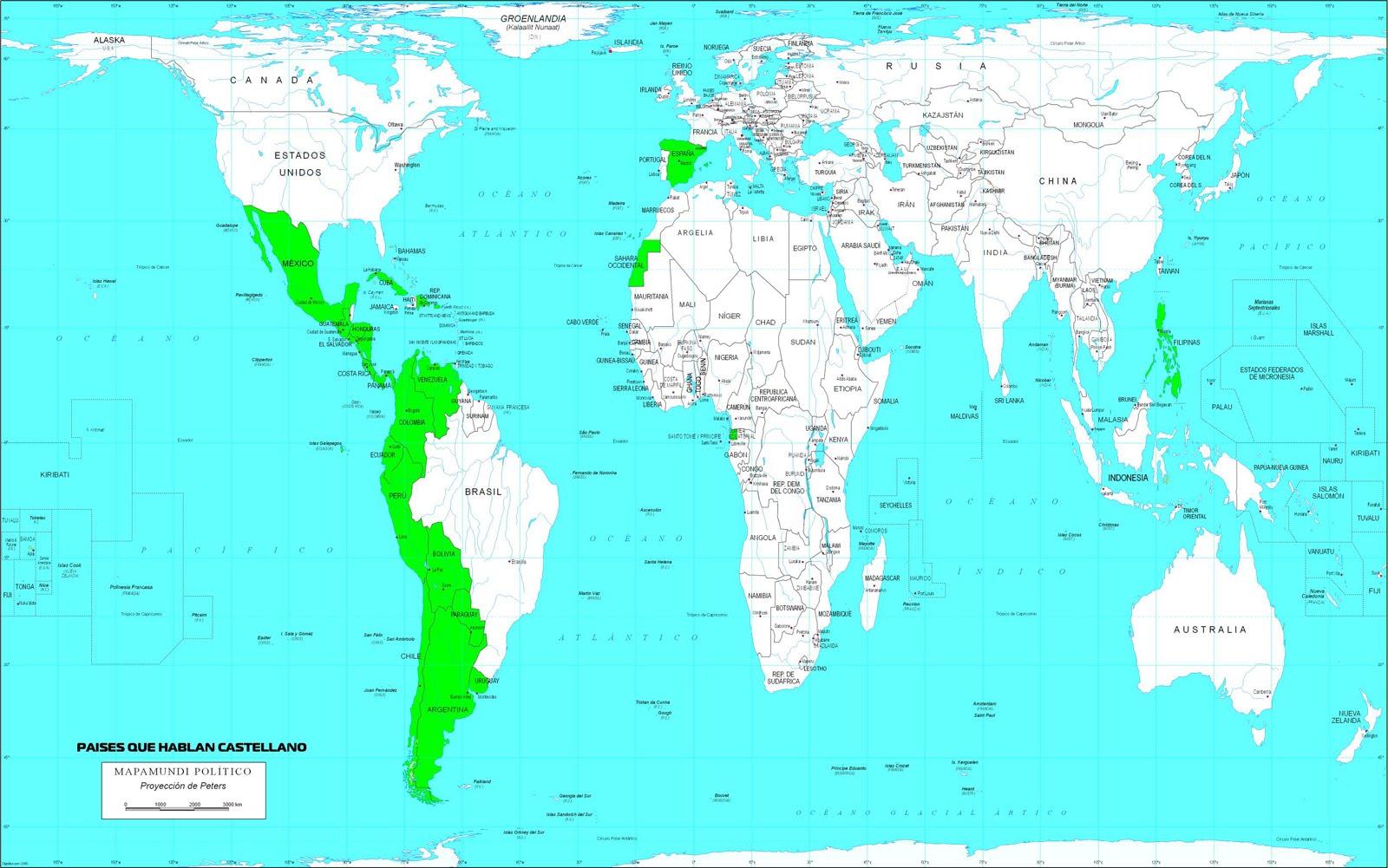 espanol como lengua oficial:
