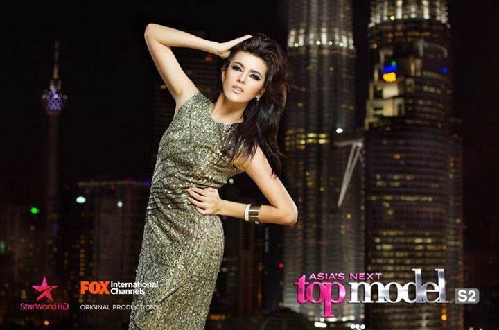 Katarina Rodriguez - Finalis Asia's Next Top Model Season 2