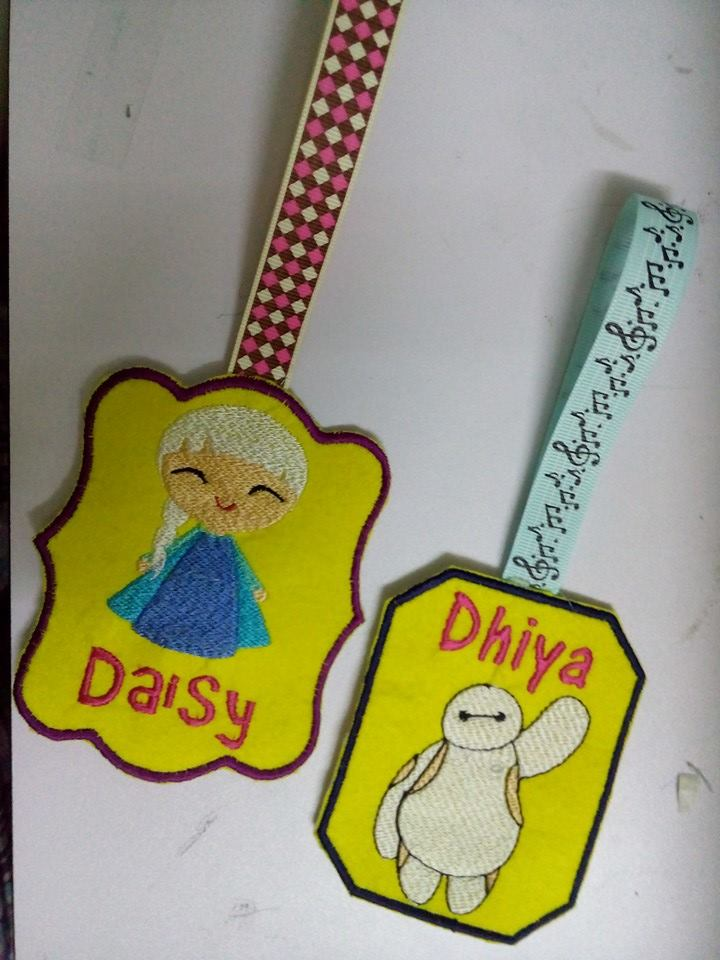 Personalized Bag tag