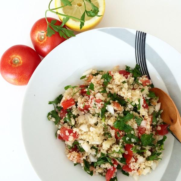 El blog healthy recetas de ensaladas light - Ensalada de garbanzos light ...