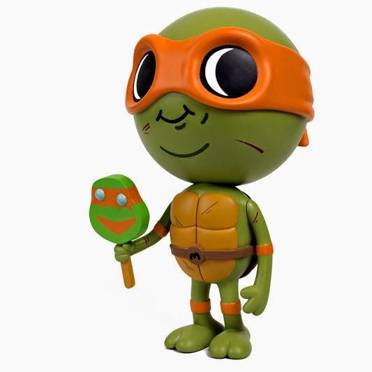 """Lil Mikey"" Teenage Mutant Ninja Turtles Vinyl Figure by Mike Mitchell"