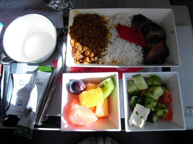 vegan and Vegetarian meals with Turkish Airlines