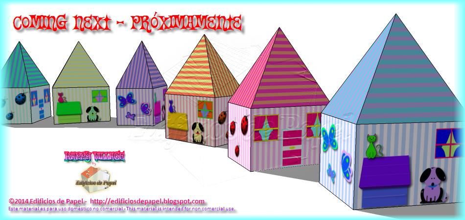 """""""Happy Village"""" by Edificios de Papel - Próximos modelos"""