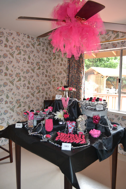 The House That Ag Built: Zebra and Pink Baby Shower