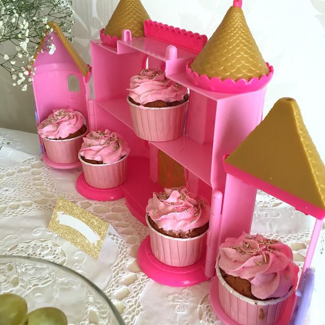 Cupcake cor de rosa