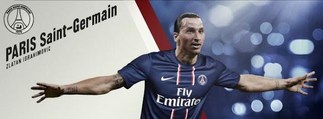 Couverture PSG Zlatan Ibrahimovic