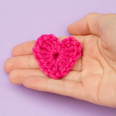 Easy Heart Crochet Pattern