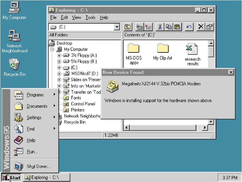 Free Download Microsoft Windows 95 Ultimate Professional