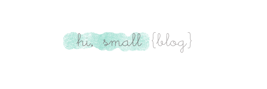 hi, small {blog}