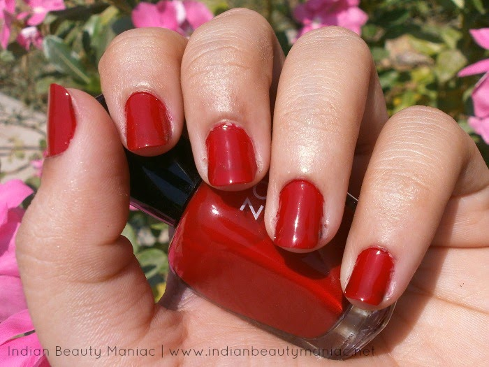 Zoya Professional Nail Lacquer in Kristi Nail Swatch