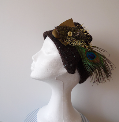 turbante ojuilla fascinator