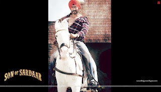 Son Of Sardaar HD Wallpaper Ajay Devgn on Horse