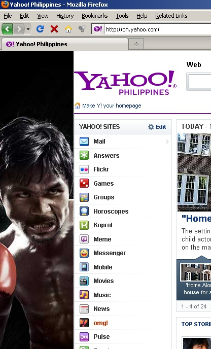 Manny Pacquiao's Creepy Face at the New Nike Ad On Yahoo PH