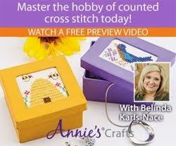 LEARN COUNTED CROSS STITCH<br>WITH MY VIDEO CLASS AND PROJECTS: