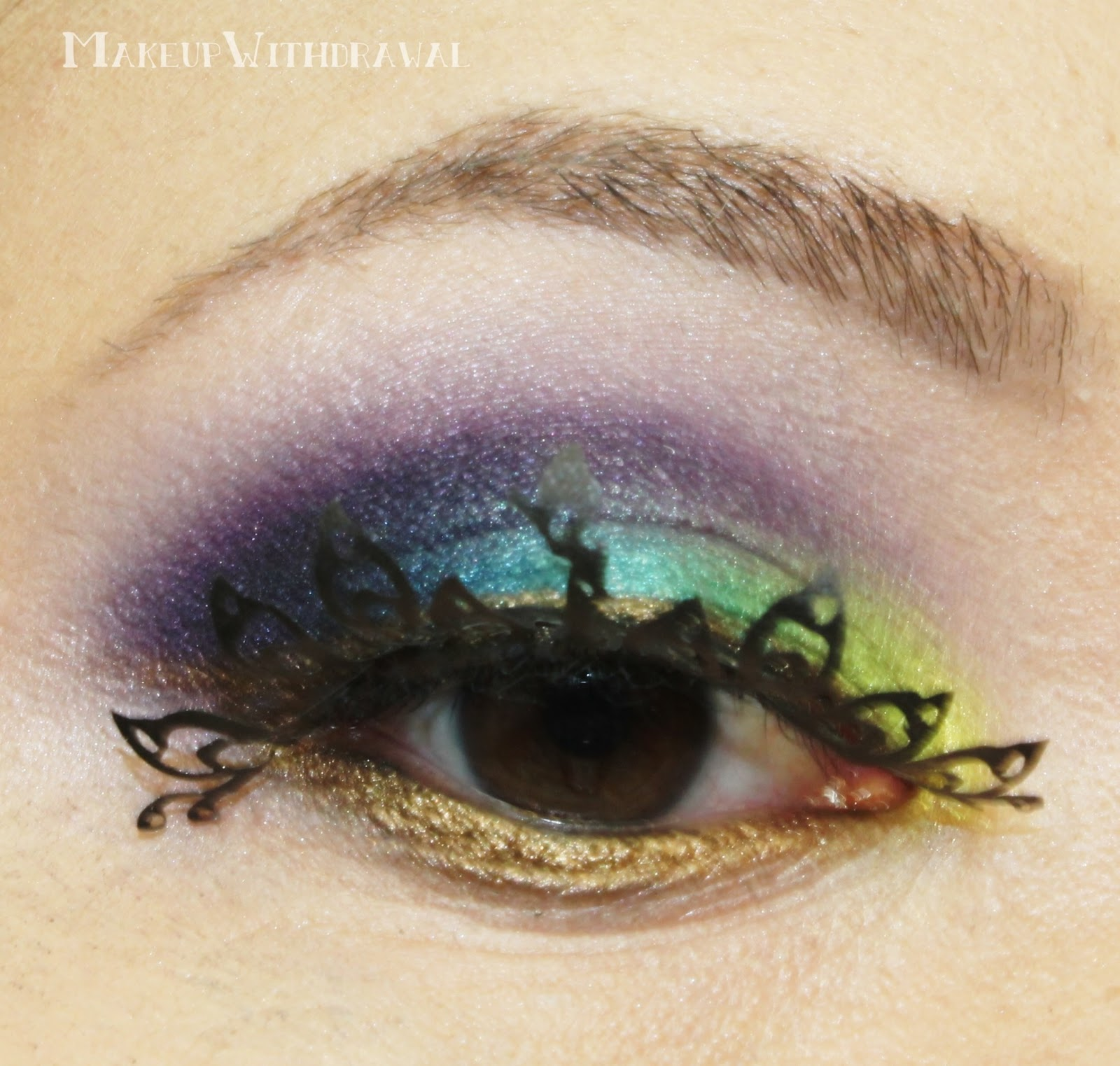 ES The Bright Peacock Lashes from KKCenterHK