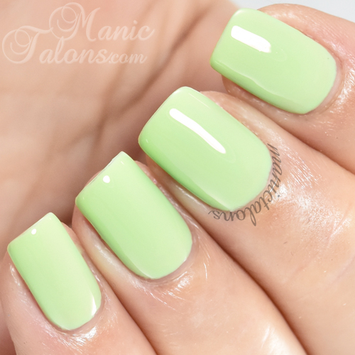 Madam Glam Green Garden Swatch