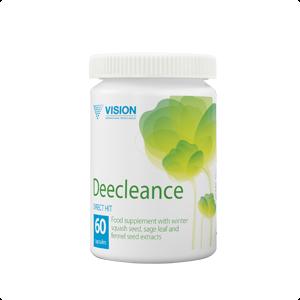 Deecleance Vision làm sạch cơ thể