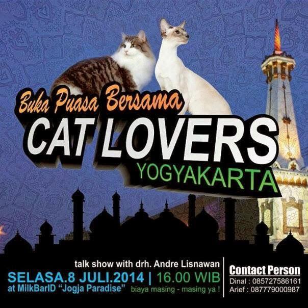 undangan buka bersama catlovers yogyakarta