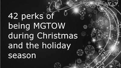 It's a MGTOW Christmas!
