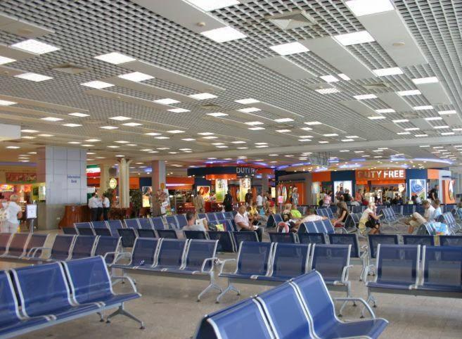 Аэропорт Хурагды. Египет