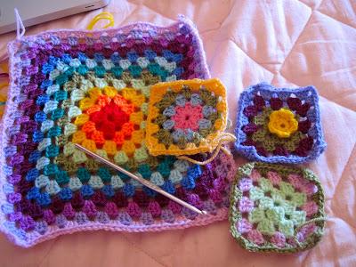Old granny square, come lavorare la piastrellina, come lavorare con la lana
