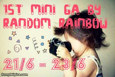 """1st Mini GA by Random Rainbow"""
