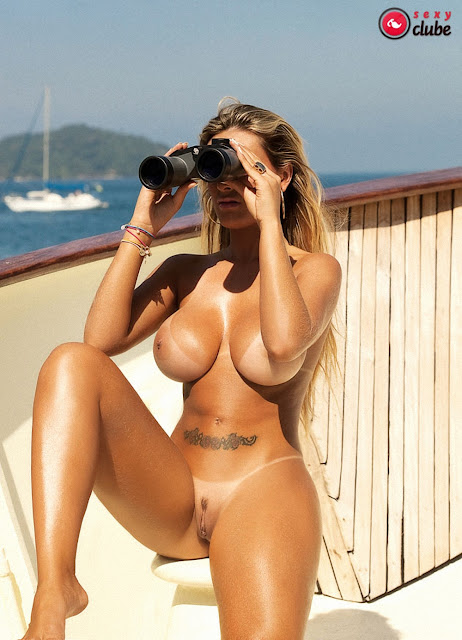Yummy Andressa Urach Nude Shoot At Beach For Sey Club Magazine