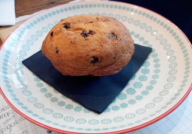 muffin, sugar blue café, bullelodie